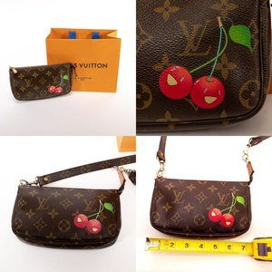 Louis Vuitton Bags - ⚜️SOLD⚜️ LOUIS VUITTON Monogram Cherries Pochette